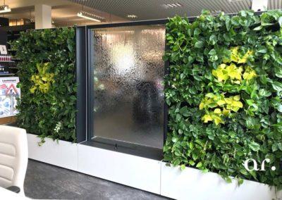 Akzente Raumbegruenung Pflanzenwand Raumteiler WorkingGreen